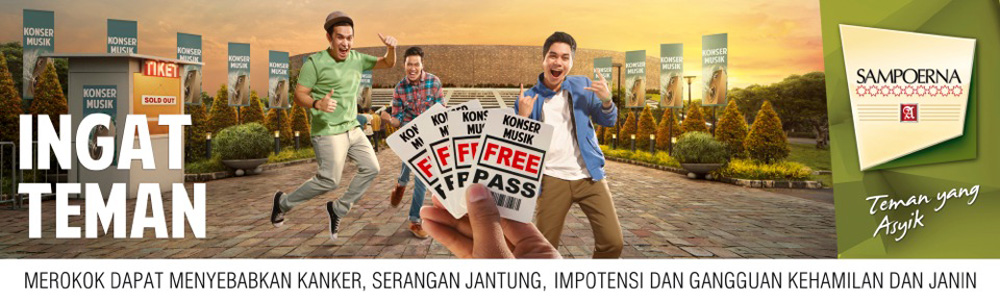 Sampoerna Indonesia campaign visual by Invy